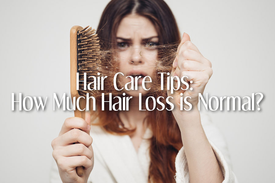 Hair Care Tips: How Much Hair Loss is Normal?